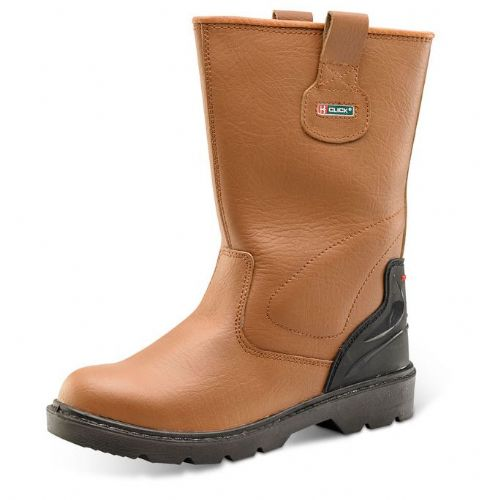 Click Premium Safety Rigger Boots